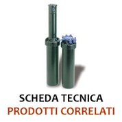 IRRIGATORE DINAMICO - SERIE 3504 PC - RAIN BIRD